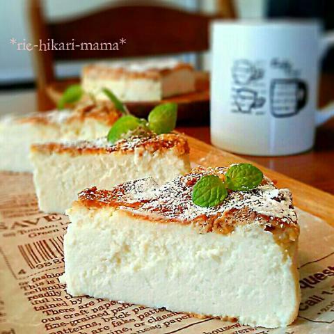 豆腐 の チーズ ケーキ