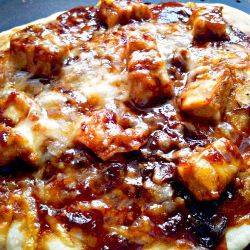 Chinese BBQ Chicken (Char Siu) Pizza