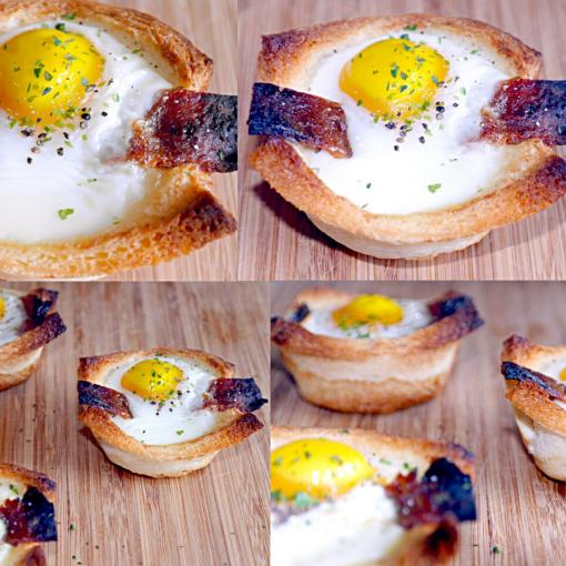 Egg + Chinese BBQ Chicken Jerky Toast #Breakfast/Brunch