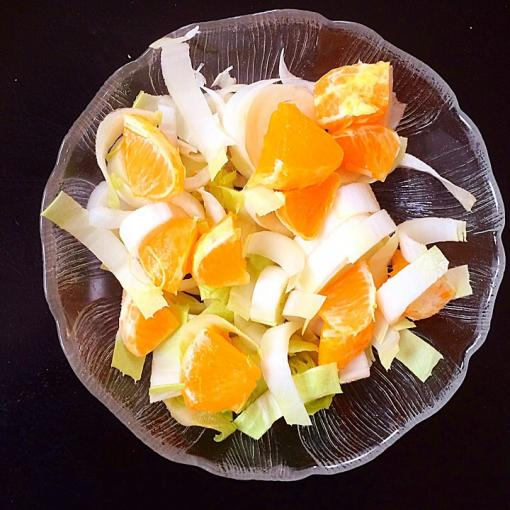 chicory orange salad