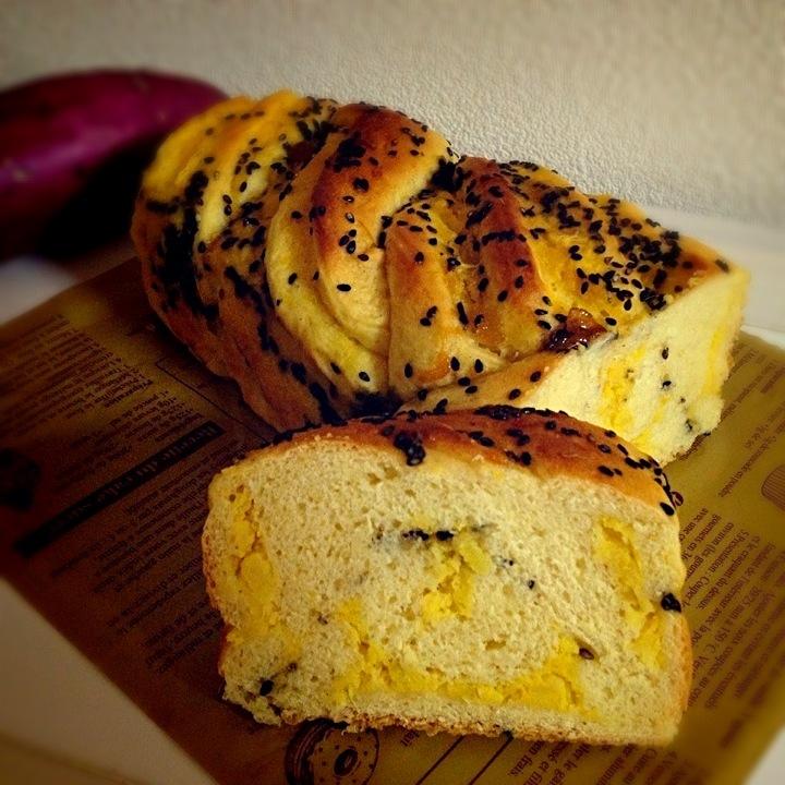 W sweet potato bread