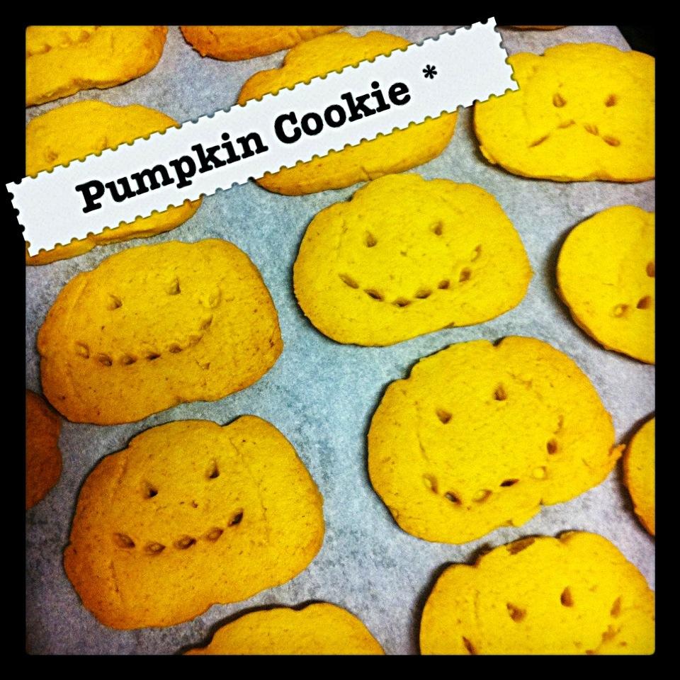 パンプキンクッキー(´ ω。 `)