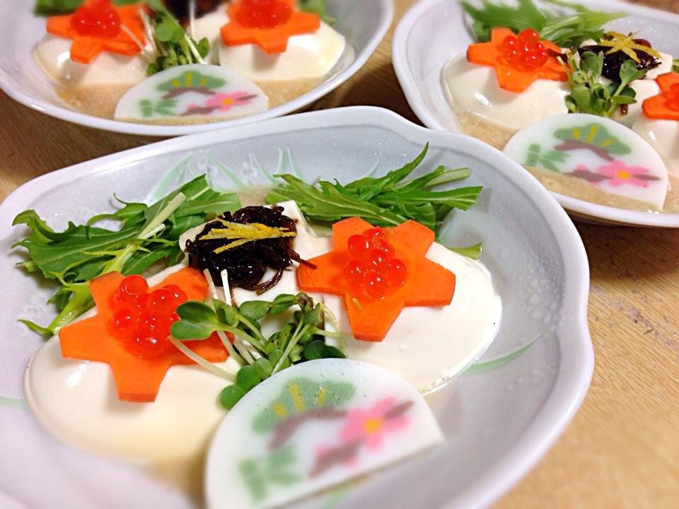 おせちde湯豆腐