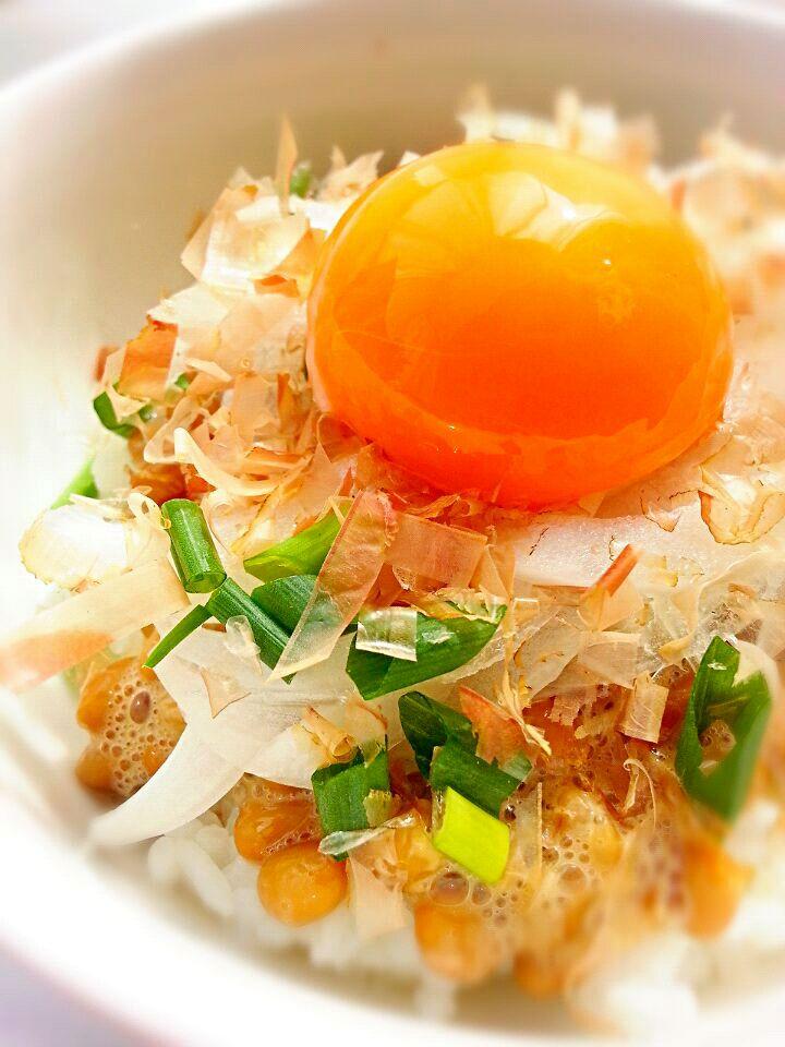 《さくっとごはん》納豆ご飯のワンランクアップレシピ