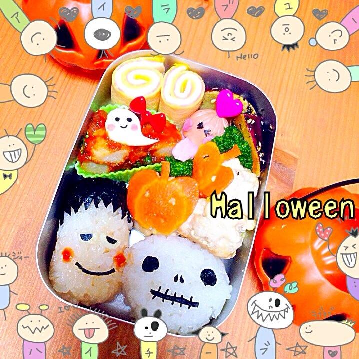 Happy Halloween弁当