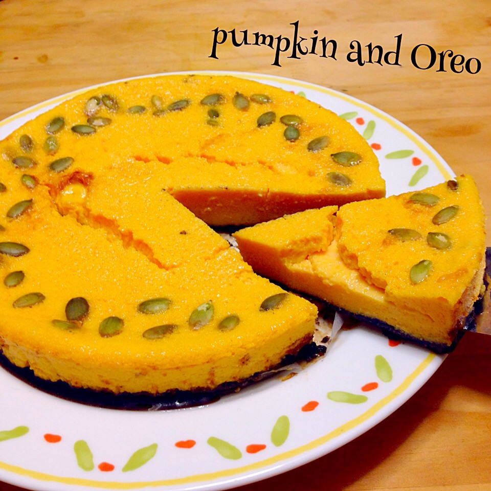 かぼちゃとオレオ