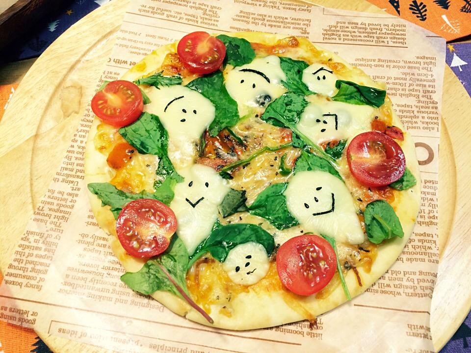 *オバケちゃんのmixピザ*