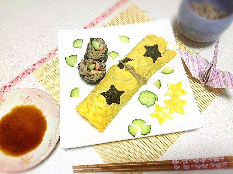 ☆蕎麦巻き☆