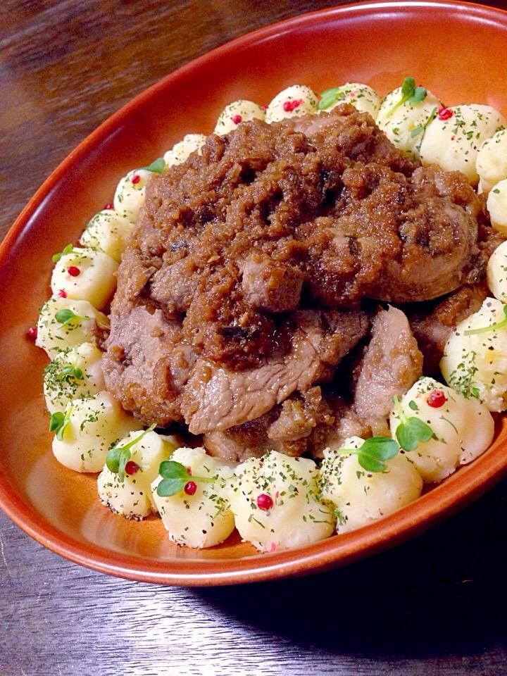 豚ヒレ肉ステーキ
