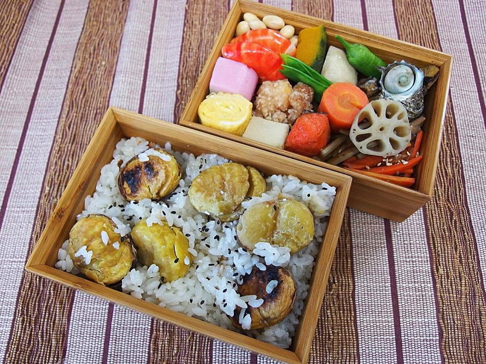 Delicious bento for leisurely trips in the fall