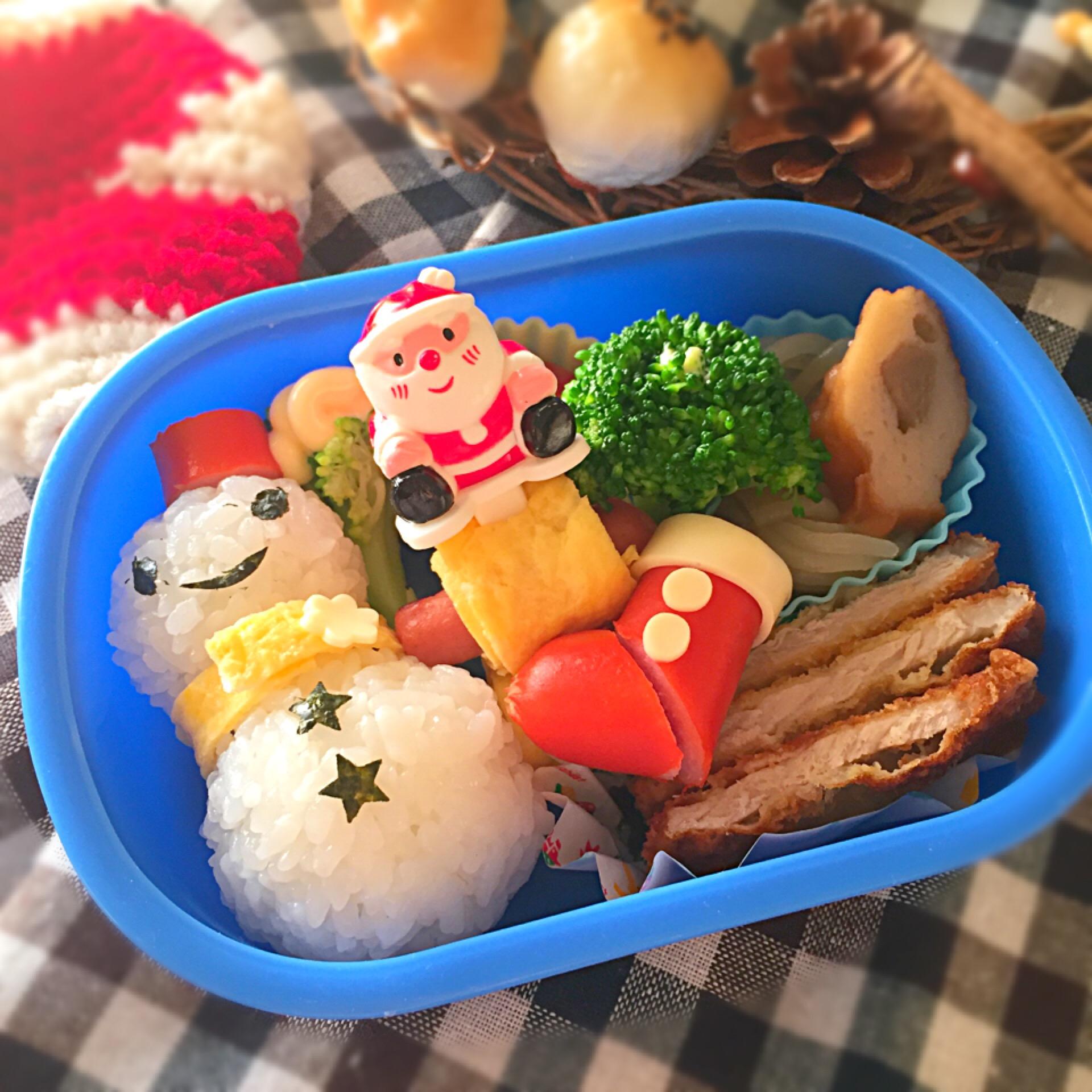 雪だるま弁当〜酢飯version〜