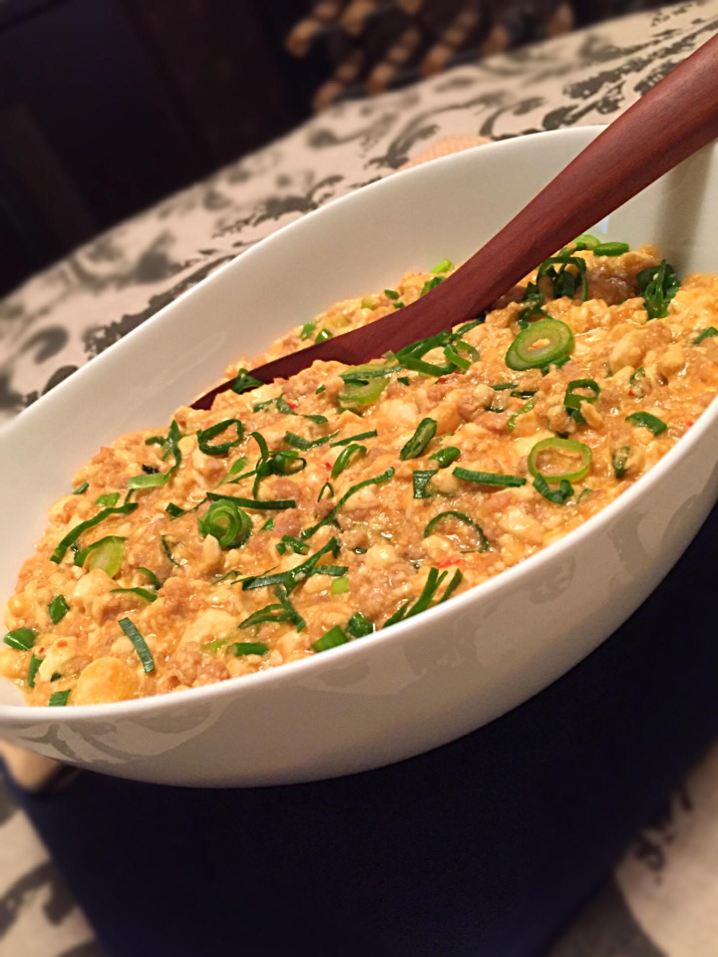 中華炒り豆腐