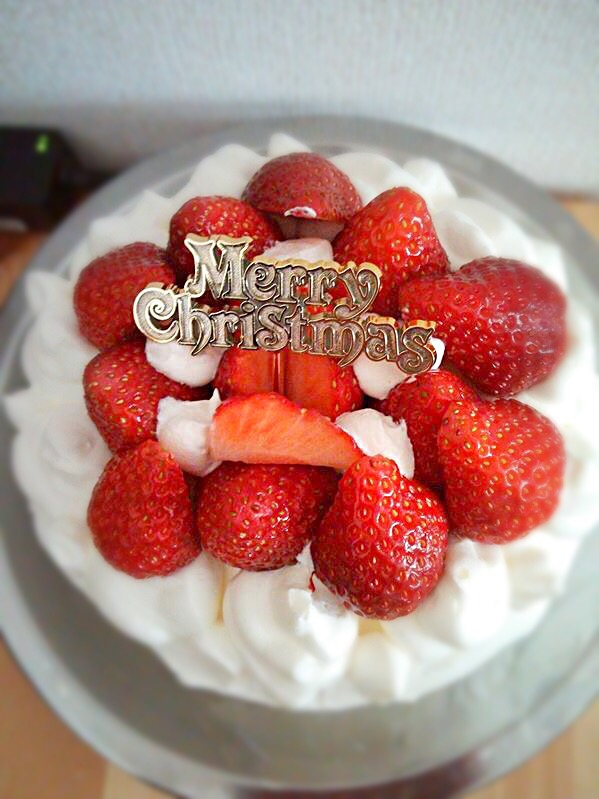 クリスマス ケーキ⭐︎ #クリスマスケーキ #パーティー #手作り #ケーキ #cake #크리스마스 #Christmas #yummy #