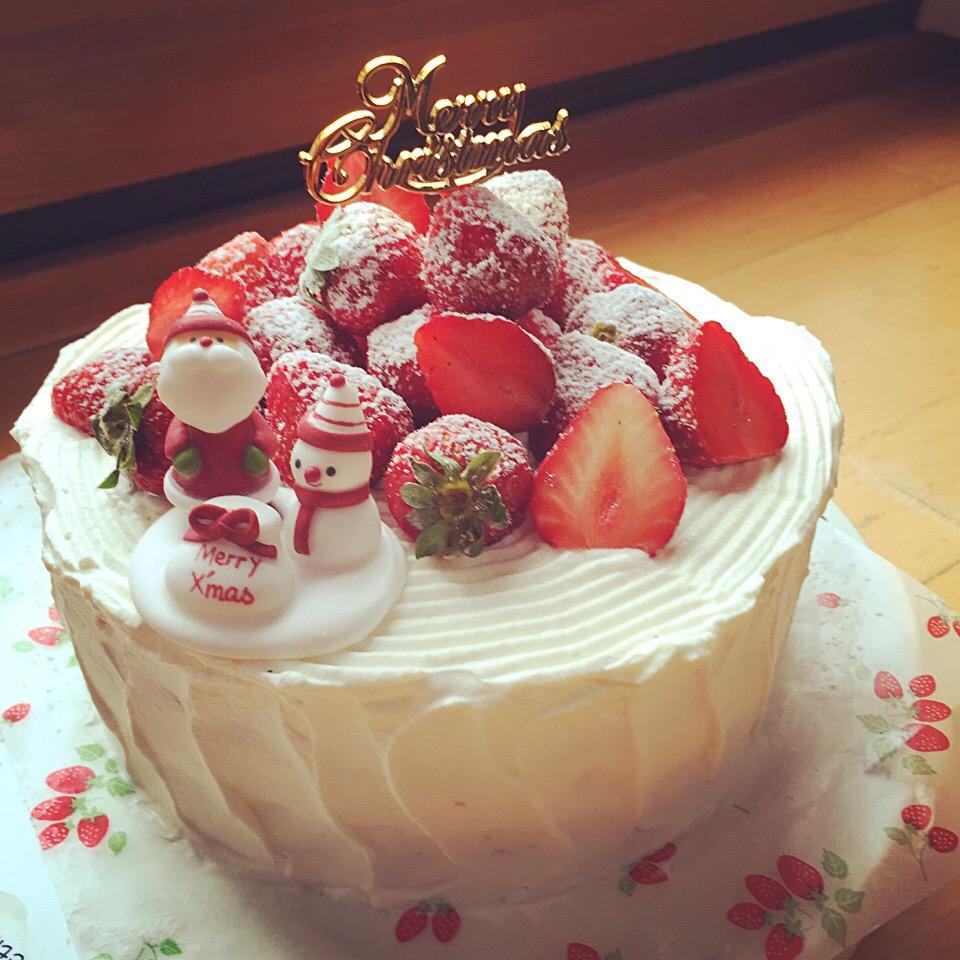 クリスマスケーキ2015