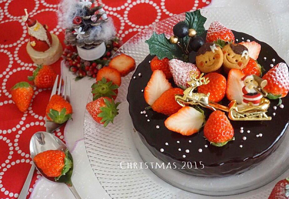 2015Xmas mousse au chocolat