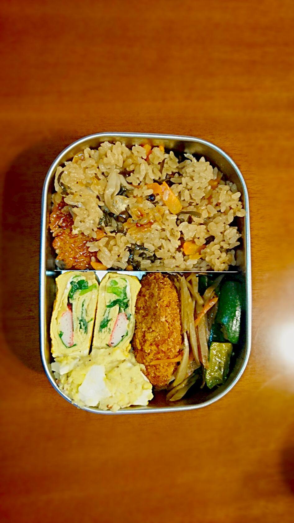 #混ぜ・炊き込みご飯/お粥