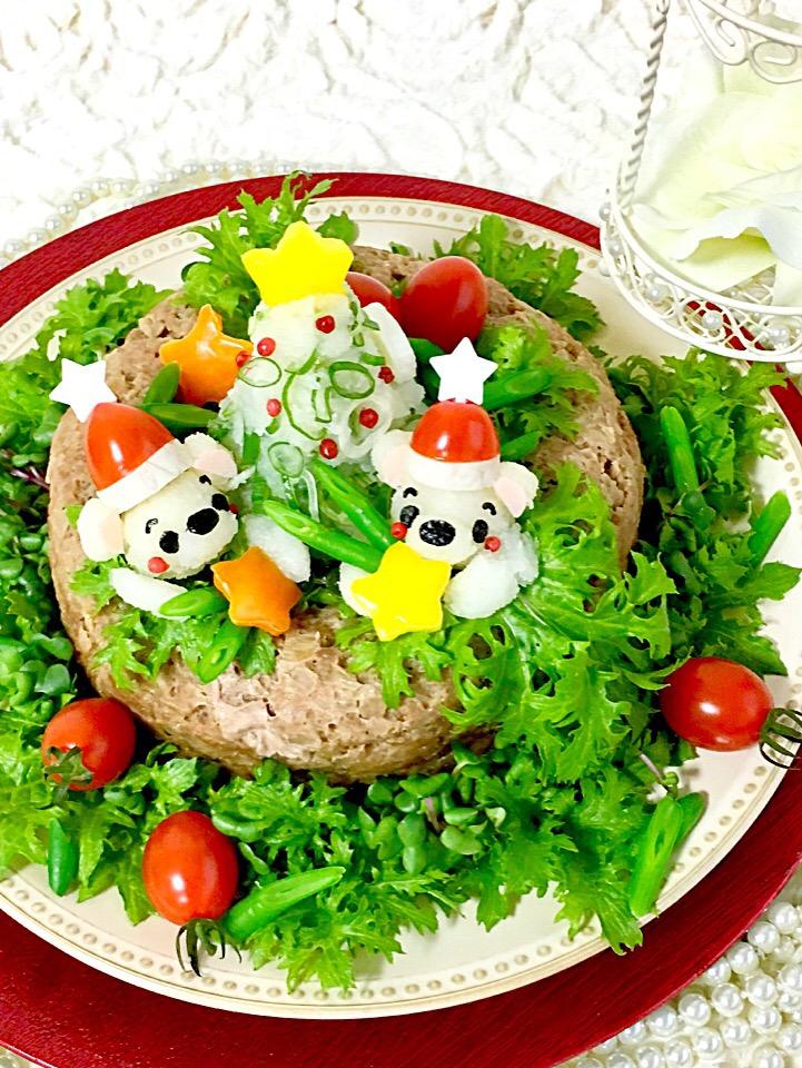 和風 おろしハンバーグ      Merry Christmas?