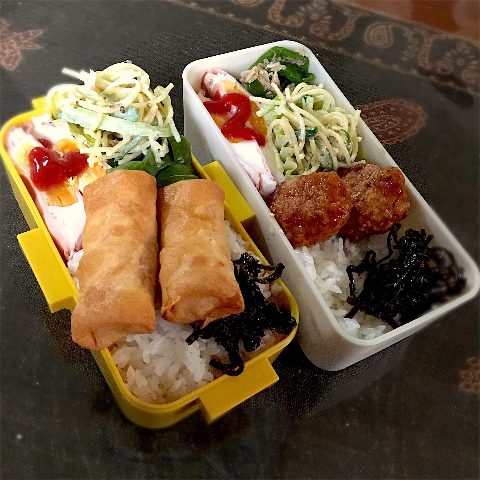 #お昼ごはん #お昼ご飯   10.19 今日のお弁当?? ハムたまご?