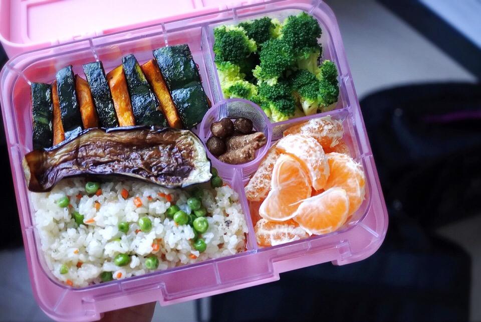 Salt/Sugar-Free Vegan Bento for Baby and Mommy | 塩・砂糖・卵・乳製品不使用お母さんと赤ちゃんのお弁当