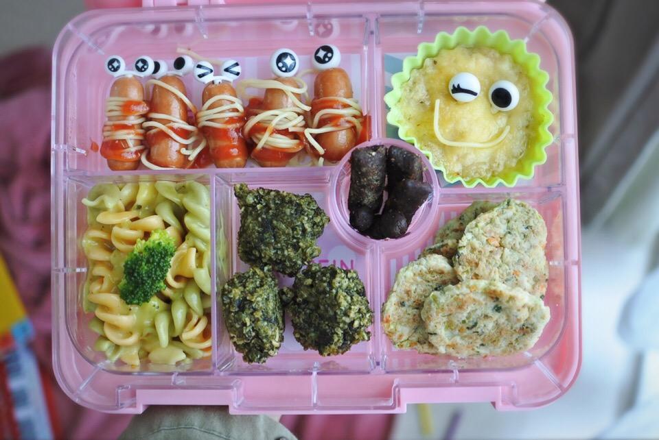 Veg'n Mommy&Baby Bento | お母さんと赤ちゃんのシェアベジタリアン弁当?