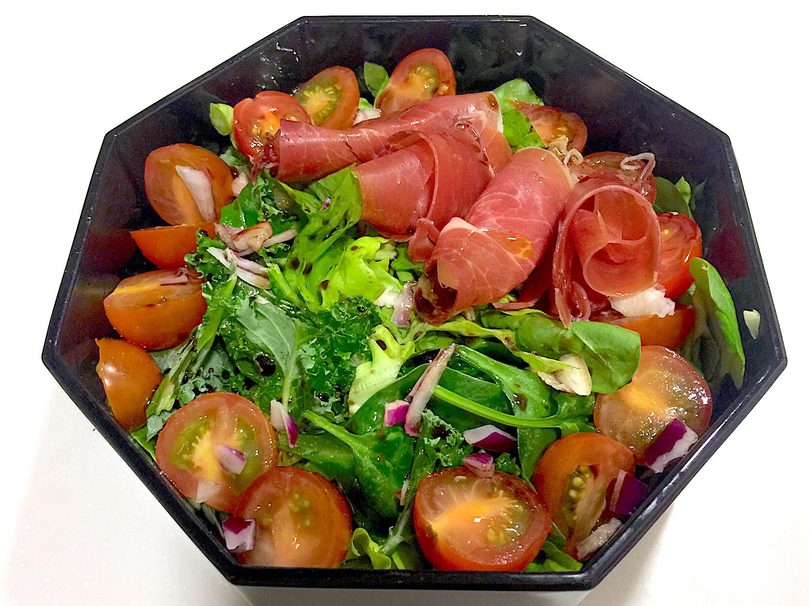 Iberico Ham Salad