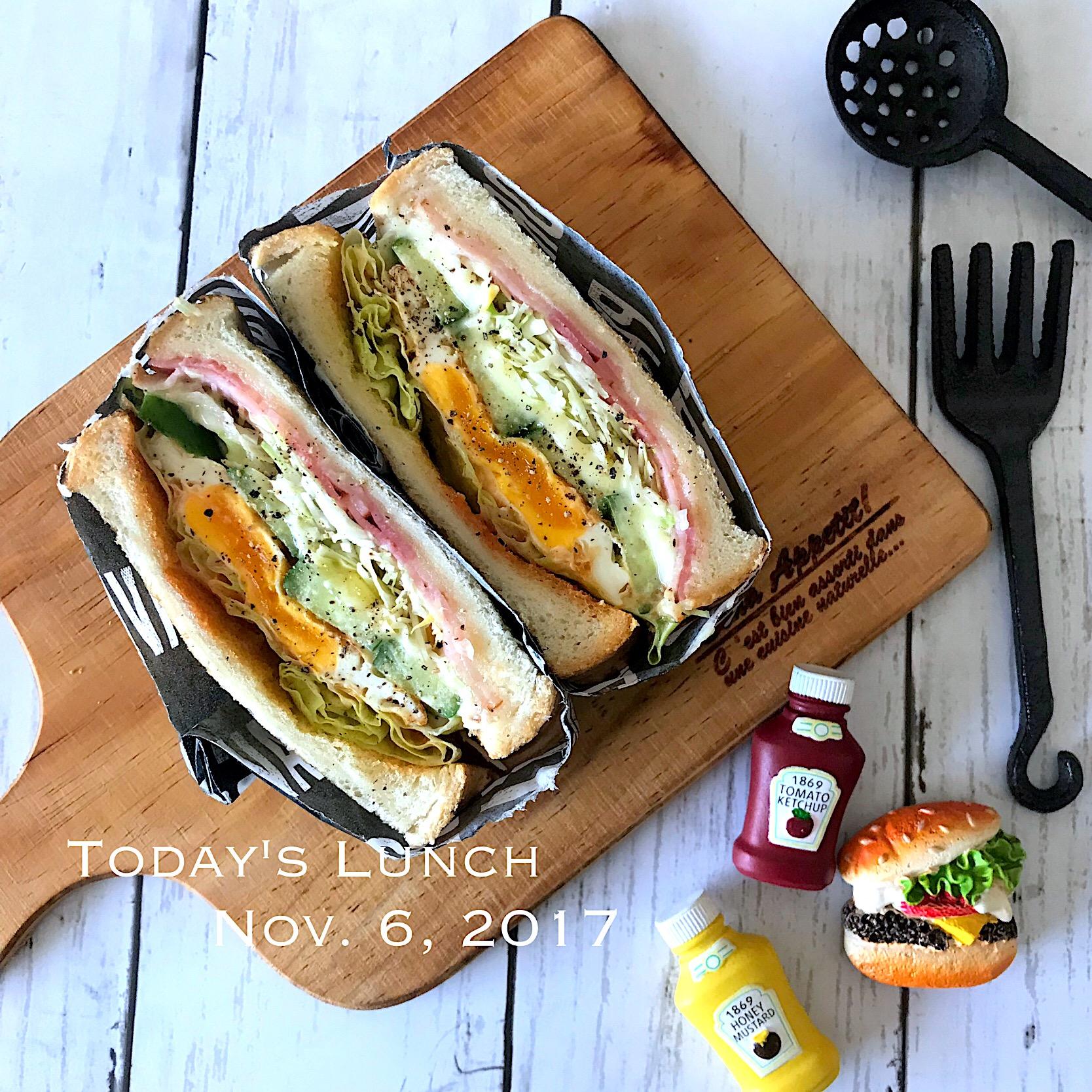置きランチ?サンドイッチ????