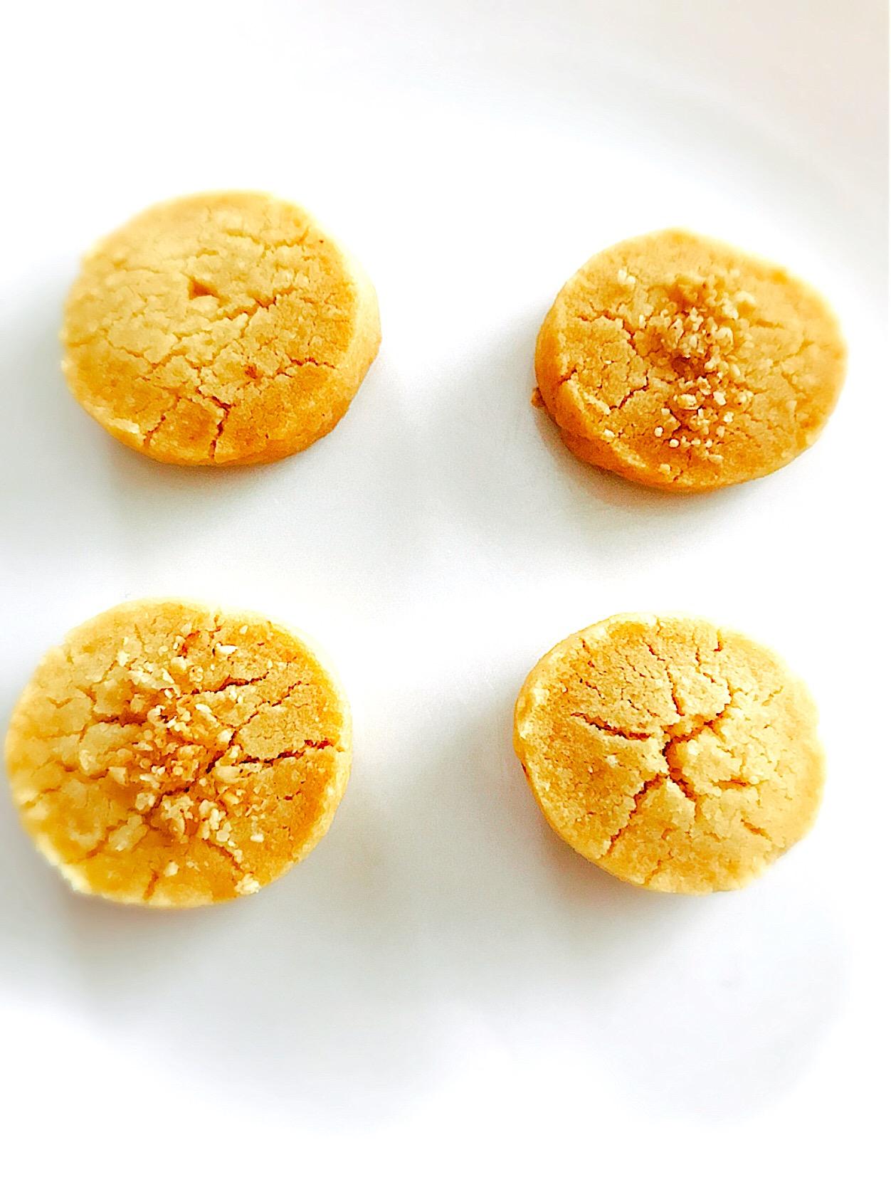 甘酒とすりゴマのクッキー