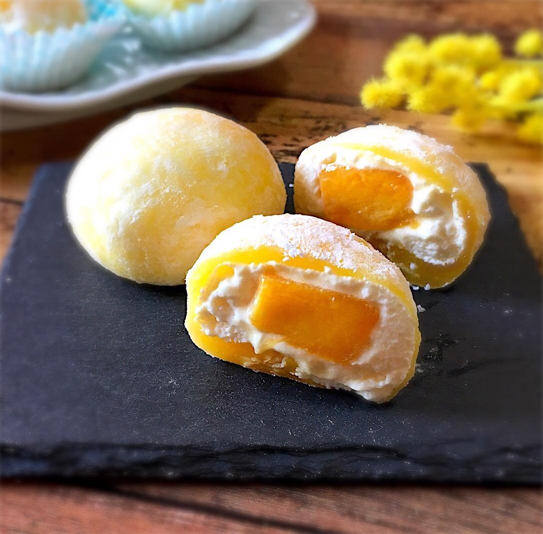 マンゴー入り☆チーズクリーム大福