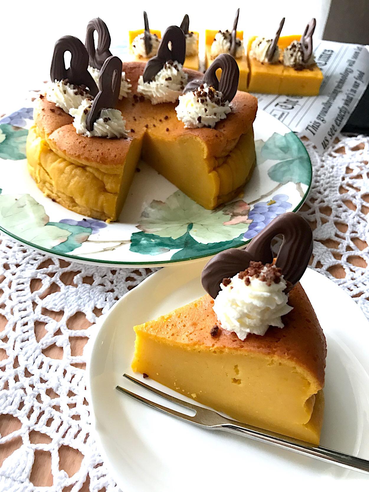 かぼちやプリンケーキ? ケーキなのプリンなの?