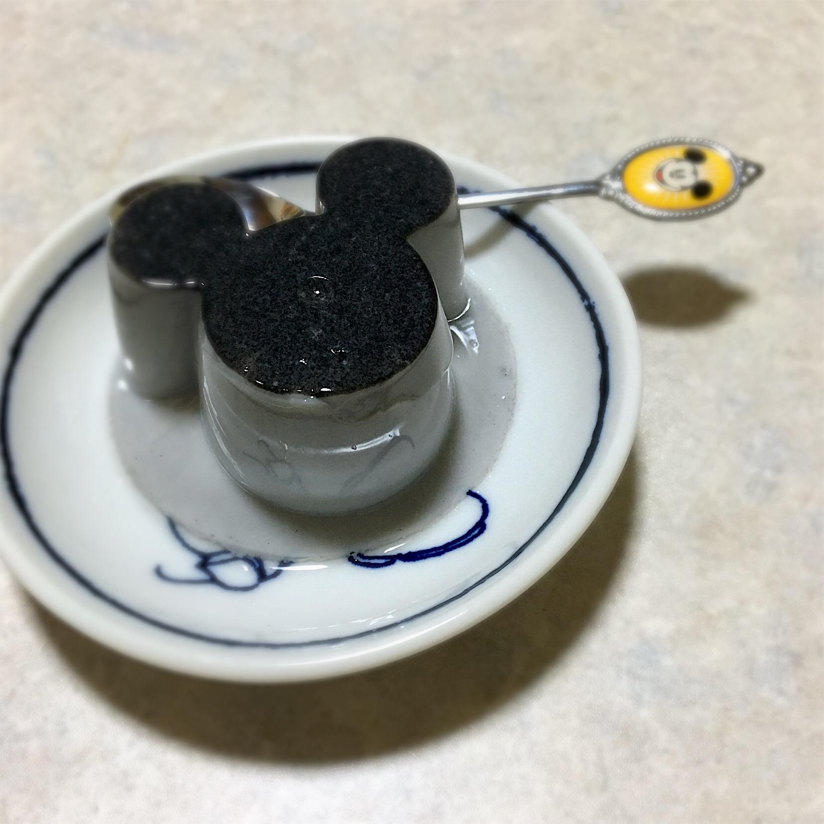 黒ごまプリン