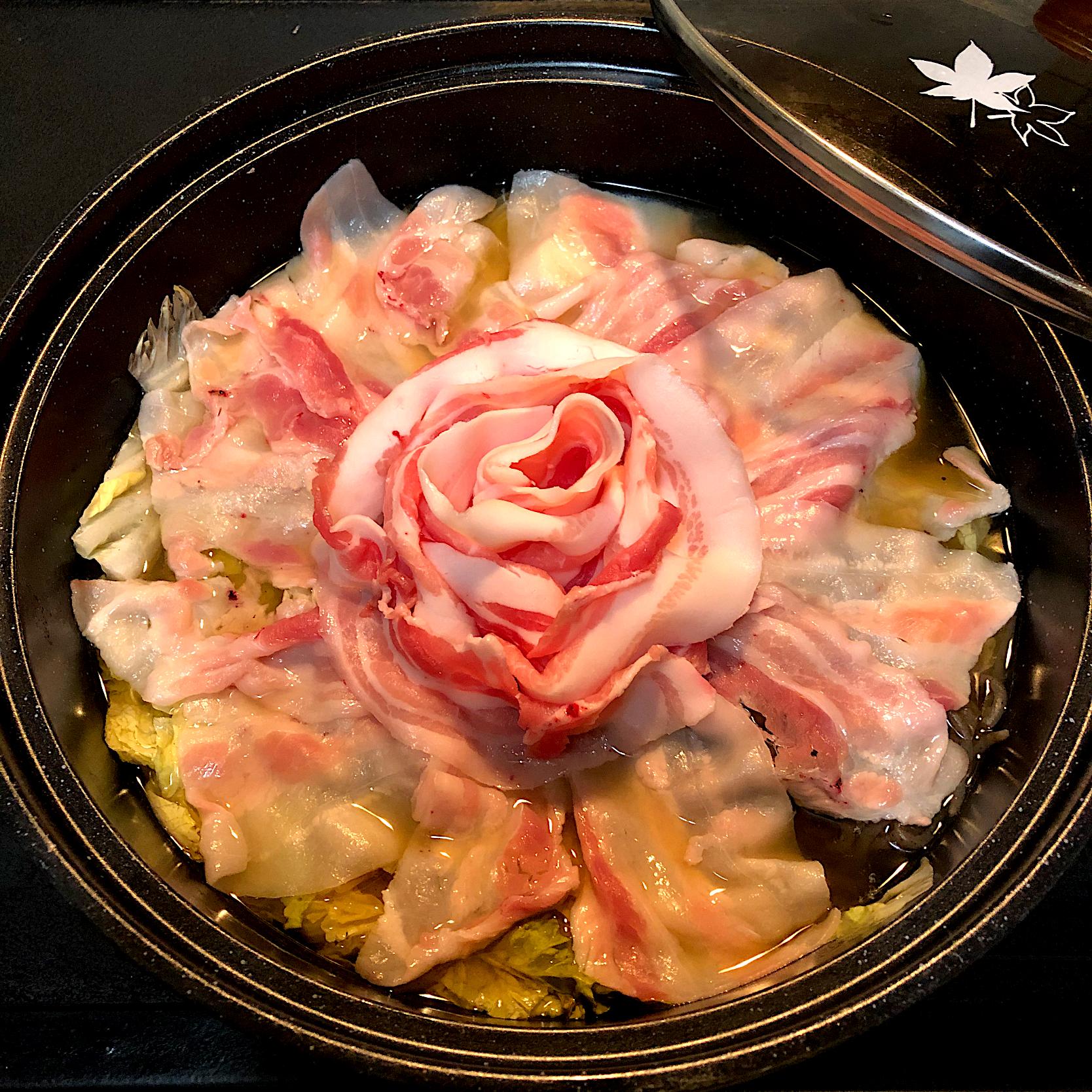 豚バラ鍋?