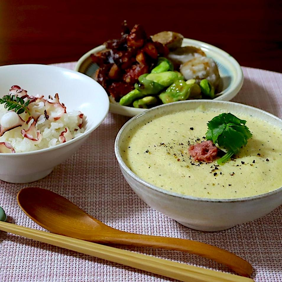 江戸時代のレシピ 定家卵と桜飯