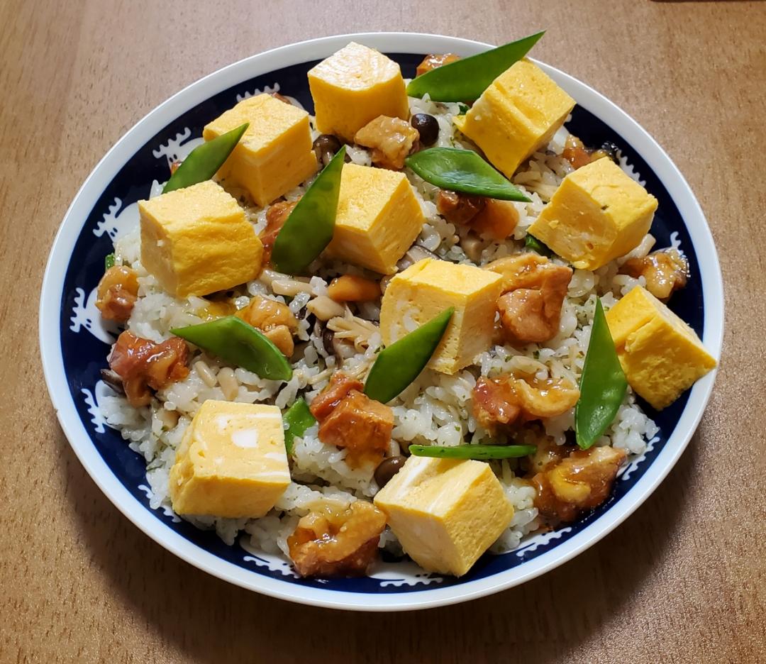 キノコレモン散らし寿司